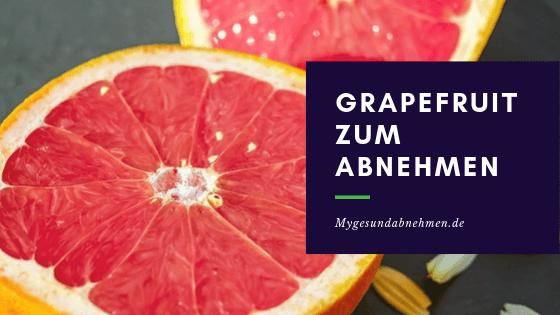 Mit der Grapefruit abnehmen 2