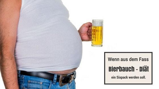 Die Bierbauch Diät
