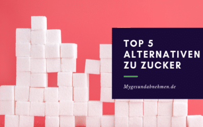 Top 5 Alternativen zu Zucker