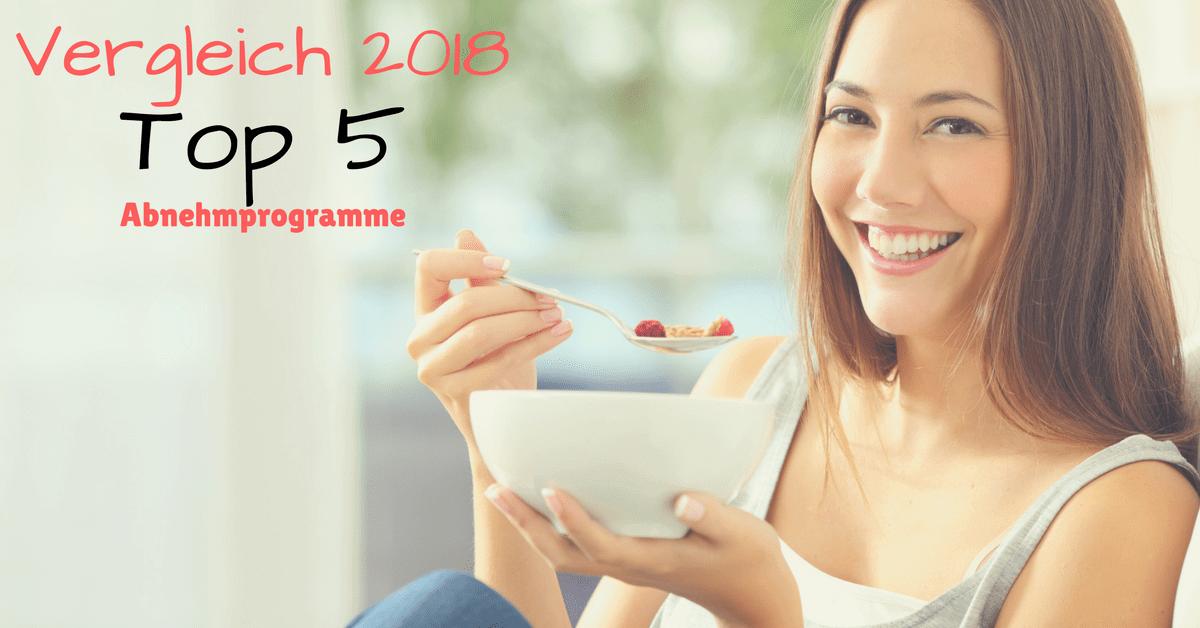 Vergleich 2018 – Die besten Abnehmprogramme