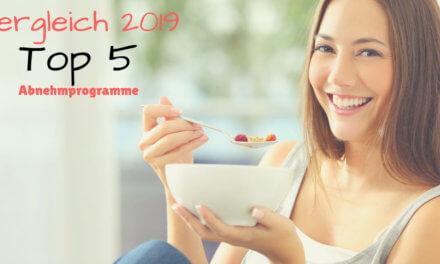 Vergleich 2019 – Die besten Abnehmprogramme