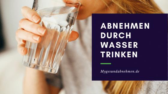 Abnehmen durch Wasser trinken – 5 Tipps